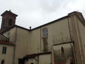 Fiancata nord della Chiesa di S. Alessio